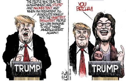 Image result for trump nazi cartoons