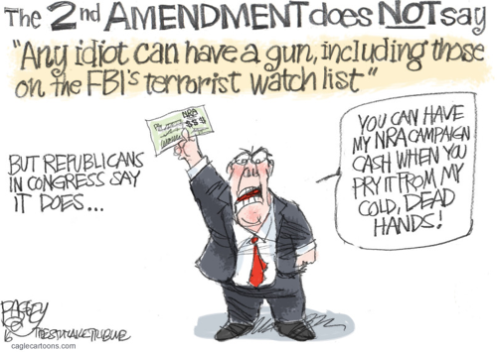 Image result for republicans for guns cartoons