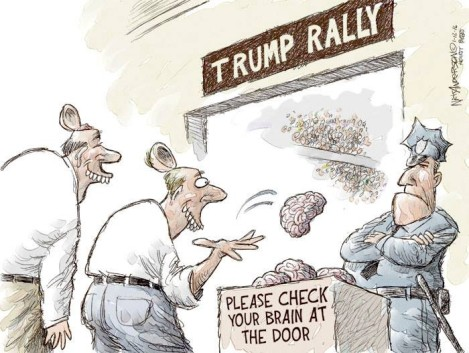Image result for trump ignorance cartoons
