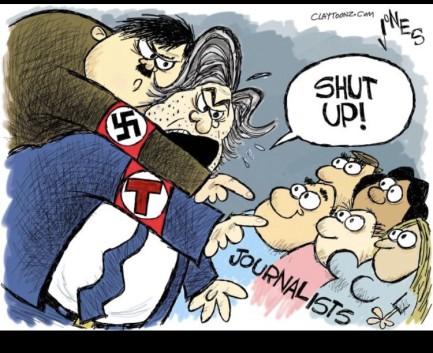 Image result for trump german cartoons