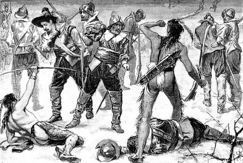 Native Americans: 1599 Acoma Tribe Massacre